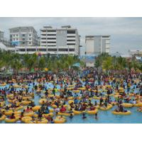 Buy cheap Outdoor Water Park Wave Pool , Rafting Slide Waterpark Equipment Artifical Sandbeach from wholesalers