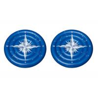 Buy cheap Giant Summer Compass Rose Glowing Inflatable Swimming Pool Toys / Lake Floats And Loungers from wholesalers