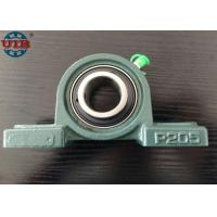 Buy cheap Pillow block bearing UCP205 agriculture machine,chrome steel Gcr15 bearing, HT250 housing from wholesalers