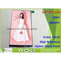Buy cheap TFT Color Lcd Display Mobile Phone 480 X 854 Resolution 5.0 Inch Transmissive Type from wholesalers