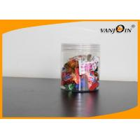 Buy cheap Clear 16oz Wide Mouth Canning Jars Plastic Candy Buffet Containers from wholesalers