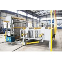 Buy cheap Carbon Steel Material EPS Sandwich Panel Production Line Semi Automatic Level from wholesalers