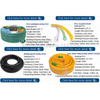 Buy cheap Transparent PVC Spiral Pipe Plastic Hose With Spring Steel Wire Reinforcement from wholesalers