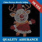 Buy cheap santa merry christmas motif ;wholesale rhinestone hotfix;latest designer for christmas decoration from wholesalers