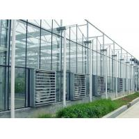 Buy cheap ContemporaryClear Prefab Modular House ,  Galvanized Steel Greenhouse Frame from wholesalers