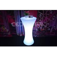 Buy cheap Unfolding Light Up Portable Bar Led Cocktail Table PE Plastic Material from wholesalers