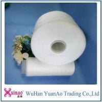 42/2 Sewing Thread 100% Spun Polyester Yarn On Dye Tube White