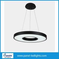 Buy cheap 70W Panel LED Lights , Minimalism Round Matte Metal Led Pendant Lighting from wholesalers