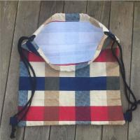Buy cheap Organic Printed Beach Cotton Canvas Shoulder Tote Bag Bulk Durable For Easy Carrying from wholesalers