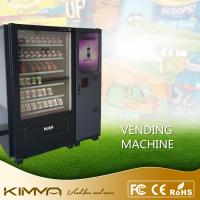 Buy cheap Touch screen waiting room vending machine dispense snack soda cold drinks by bill and coin operated from wholesalers