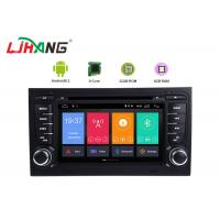 Buy cheap 7 Inch Touch Screen Audi Car DVD Player Android 8.1 With TV GPS USB Port from wholesalers