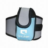 Buy cheap Neoprene Mobile Phone Pouch/Bag, Available in Customized Designs product