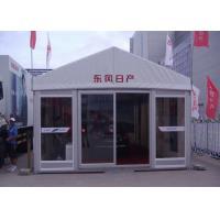 Customized Outdoor Event Tents UV Resistant / Fire Retardant With Glass Door