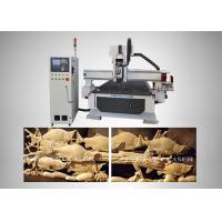 Buy cheap 9kw High Accuracy Plate - Type Automatic Wood Router For Advertising Signs product