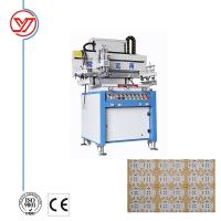 Buy cheap YO-5070 Single Color High Quality Card Screen Printing Machine from wholesalers