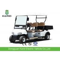 Buy cheap Multipurpose 4 Passenger Club Car Electric Golf Buggy With Rear PP Plastic Cargo Box from wholesalers