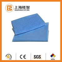 Buy cheap Blue Wave Printed Foam Bonding Viscose Rayon Nonwoven Wiping Cloth for Home / Hotel from wholesalers