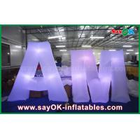 Buy cheap 2m Nylon LED Lighting Decoration Customized English Letters For Event from wholesalers