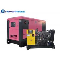 Buy cheap 20KW 25KVA Ultra Silent Generator Set Diesel Power Electric Genset Smartgen Controller from wholesalers