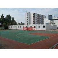 Buy cheap 20ft 40ft Folding Modular Classroom Buildings Demountable Temporary Classrooms from wholesalers