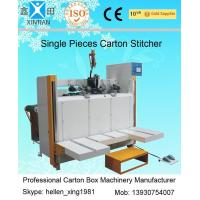 Buy cheap Servo System Single Piece Carton Box Stapler Machine With Speed 450 Nails / Min product