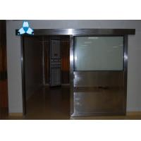 Buy cheap Anti - Radiation Automatic Hospital Doors With Sliding Single Leaf , Easy Clean And Antibiosis from wholesalers