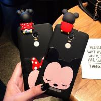 Buy cheap Hot Selling 3d Soft PVC Mickey Minne Silicone Phone Case Phone Cover , Black from wholesalers