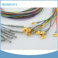 Buy cheap Coated Gold / AgCl / Pure Silver / Sintered EEG Electrode Cup , Cup Diameter 10mm from wholesalers
