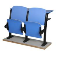 Buy cheap Fixed Lecture Chairs With Writing Tablets , Classroom Furniture For Reading from wholesalers