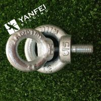 Buy cheap Qingdao Yanfei Rigging -Rigging Hardware-M6-M8-M10-zinc plated din580 lifting eye bolt from wholesalers