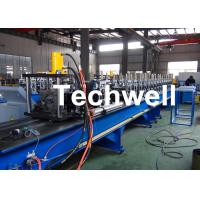 Buy cheap Steel Structure Racking Roll Forming Machine For Shelf Rack Beam With Hydraulic Cutting TW-RACK from wholesalers