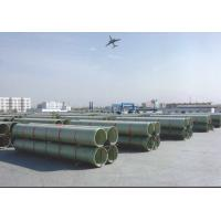Buy cheap FRP/GRP pipe, DN15-DN4000mm, pressue: 0-25bar, Stiffness: 10000 from wholesalers