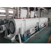 Buy cheap 16 - 800mm PE Pipe Extrusion Line SJ30 / 25 Color Line Marking Co Extruder from wholesalers