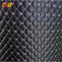 Buy cheap Embroidered PU Synthetic Leather Laminated With Foam And Nonwoven from wholesalers