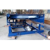 Buy cheap 6m Movable pallet lift table 400mm lip length for loading bay / dock leveler / dock ramp from wholesalers