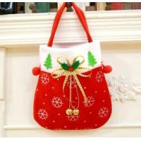 Buy cheap Christmas decorations Christmas gift bag old man snowman decorative candy bag gift,Christmas socks from wholesalers