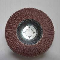 Buy cheap Aluminum Oxide High Density Abrasive Flap Discs Conical For Angle Grinders Fiberglass Base from wholesalers