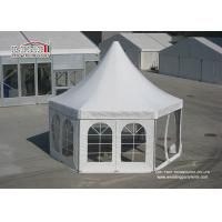 Buy cheap Mini Luxury Pagoda High Peak Outdoor Tent with PVC window Sidwalls for Party from wholesalers