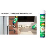 Buy cheap Multi - Purpose B2 Fireproof Foam Filler Spray , Off White High Density Spray Foam from wholesalers