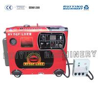 Buy cheap Small petrolic electric generating set , Single - phase Diesel air power generator from wholesalers
