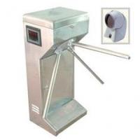 Buy cheap Access control vertical Tripod Turnstile gate with scanner for subway, community product