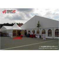 Buy cheap Deluxe Wedding Marquee Tent With Sandwich Panel Wall 9m Width 22° Roof Pitch from wholesalers