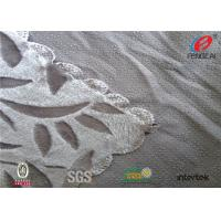 Buy cheap Flower Print Crushed Velour Fabric / Crushed Velvet Tablecloth With Anti Slip Dot from wholesalers