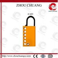 Buy cheap Different  types and colors  Steel Aluminum Hasp for lockout from wholesalers
