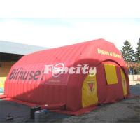 Buy cheap Red Inflatable Event Tent / Cool Camping Tents With Customized Logo For Outdoor from wholesalers