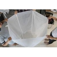 Buy cheap Drawstring Zipper Brewing Nylon Filter Bag For Brewing Beer , Eco Friendly product