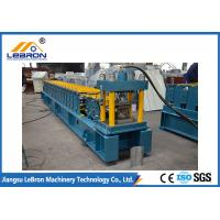 Buy cheap 2018 New type Blue color Door Shutter Roll Forming Machinemade in china PLC control system long time service from wholesalers
