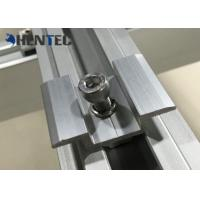 China Anodized PV MID Clamp For Roof Mounting Systems , Customized Dimensions on sale