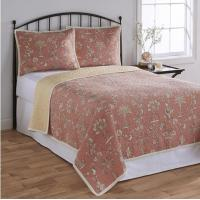 Buy cheap Cotton Quilt Bedding Set King Size / Duvet Cover Set With Knitted Technics from wholesalers