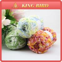 Buy cheap OEM chenille Fancy Polyester Knitting Yarn for glove , double knitting yarn from wholesalers
